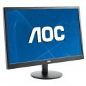 "AOC e2470Swda 23.6"" Widescreen TN LED Black Multimedia Monitor (1920x1080/5"