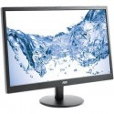 "AOC e2470Swhe 23.6"" Widescreen TN LED Black Monitor (1920x1080/5ms/ VGA/2xH"