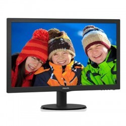 "Philips 223V5LHSB2/00 21.5"" Widescreen TN W-LED Black Monitor (1920x1080/5m"