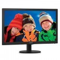 "Philips 243V5LHAB 23.6"" Widescreen TN W-LED Black Multimedia Monitor (1920x"