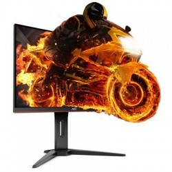 "AOC C27G1 27"" Widescreen VA LED Black/Red Curved Monitor (1920x1080/1ms/ VG"
