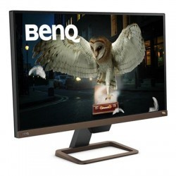 "BENQ EW2780U 27"" Widescreen IPS LED Metallic Grey Multimedia Monitor (3840x"