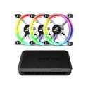 Zalman ZM-LF120A3 Premium 120mm Ring LED Fan 3-Pack with Z.SYNC