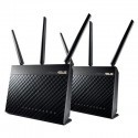 ASUS RT-AC68U Wireless Broadband Router - 1300Mbps - Dual-Band - 2 Pack