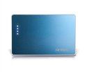 Antec PowerUp Slim 2200 Blue Power in your back pocket Power Bank APS 2200