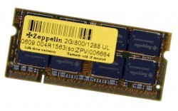 Zeppelin 2GB DDR2 800 PC2-6400 RETAIL SODIMM LAPTOP